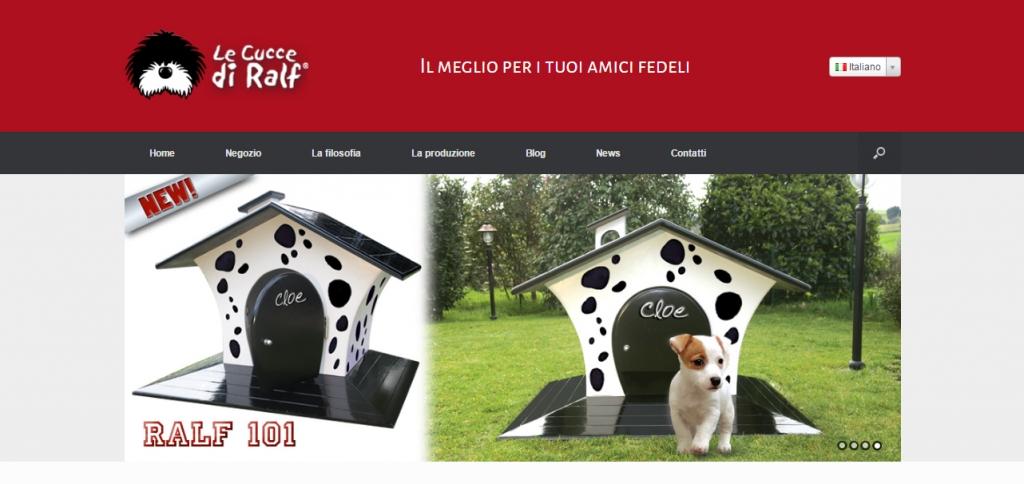e-commerce cucce per cani